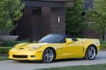 2010 Chevrolet Corvette Grand Sport Convertible in Velocity Yellow Tintcoat - Static Front Left Three-quarter View