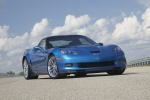 2010 Chevrolet Corvette ZR1 in Jetstream Blue Metallic Tintcoat - Static Front Right View