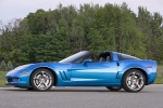 2010 Chevrolet Corvette Grand Sport Coupe in Jetstream Blue Metallic Tintcoat - Static Left Side View