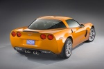 2010 Chevrolet Corvette Z06 - Static Rear Right View