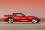 2010 Chevrolet Corvette Coupe in Crystal Red Metallic Tintcoat - Static Side View
