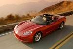 2010 Chevrolet Corvette Coupe in Crystal Red Metallic Tintcoat - Static Front Left Three-quarter View