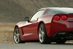2010 Chevrolet Corvette Coupe in Crystal Red Metallic Tintcoat