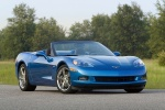 2010 Chevrolet Corvette Convertible in Jetstream Blue Metallic Tintcoat - Static Front Right View