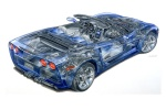 2010 Chevrolet Corvette Convertible Technology