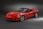 2010 Chevrolet Corvette Grand Sport Convertible in Torch Red - Static Front Left Three-quarter View