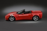 2010 Chevrolet Corvette Grand Sport Convertible in Torch Red - Static Side View