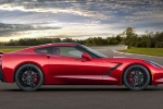 2016 Chevrolet Corvette Stingray Coupe in Torch Red - Static Side View