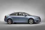 2012 Chevrolet Cruze Eco in Ice Blue Metallic - Static Side View