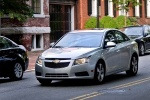 2013 Chevrolet Cruze LT in Silver Ice Metallic - Driving Front Left View