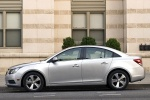2014 Chevrolet Cruze LT in Silver Ice Metallic - Static Side View