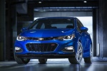 2016 Chevrolet Cruze Premier Sedan in Kinetic Blue Metallic - Static Frontal View