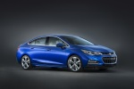 2017 Chevrolet Cruze Premier Sedan in Kinetic Blue Metallic - Static Front Right Three-quarter View