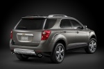 2015 Chevrolet Equinox in Silver Ice Metallic - Static Rear Right View