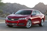 2016 Chevrolet Impala LTZ in Siren Red Tintcoat - Static Front Left View