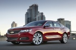 2016 Chevrolet Impala LTZ in Siren Red Tintcoat - Static Front Left Three-quarter View