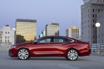 2016 Chevrolet Impala LTZ in Siren Red Tintcoat - Static Side View
