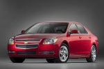 2010 Chevrolet Malibu LT in Red Jewel Tintcoat - Static Front Left Three-quarter View