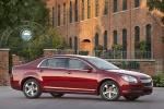 2010 Chevrolet Malibu LT in Red Jewel Tintcoat - Static Right Side View