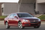 2010 Chevrolet Malibu LT in Red Jewel Tintcoat - Static Front Right Three-quarter View