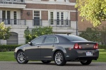 2010 Chevrolet Malibu LTZ in Taupe Gray Metallic - Static Rear Left Three-quarter View
