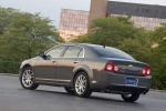 2010 Chevrolet Malibu LTZ in Taupe Gray Metallic - Static Rear Left View