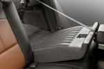 2010 Chevrolet Malibu LTZ Rear Seats in Cocoa / Cashmere