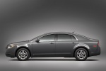 2012 Chevrolet Malibu LS in Taupe Gray Metallic - Static Side View