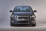 2014 Chevrolet Sonic Sedan in Ashen Gray Metallic - Static Frontal View