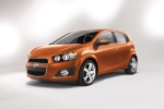 2015 Chevrolet Sonic Hatchback LTZ - Static Front Left View