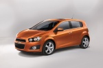 2015 Chevrolet Sonic Hatchback LTZ - Static Front Left Three-quarter View