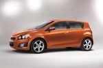 2015 Chevrolet Sonic Hatchback LTZ - Static Side View