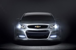 2014 Chevrolet SS in Silver Ice Metallic - Static Frontal View
