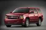 2010 Chevrolet Tahoe Hybrid in Red Jewel Tintcoat - Static Front Left View