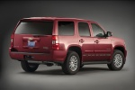 2010 Chevrolet Tahoe Hybrid in Red Jewel Tintcoat - Static Rear Right View
