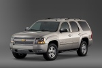 2012 Chevrolet Tahoe LTZ in Gold Mist Metallic - Static Front Left Three-quarter View