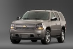 2014 Chevrolet Tahoe LTZ in Champagne Silver Metallic - Static Front Left View