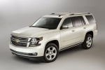 2017 Chevrolet Tahoe in Summit White - Static Front Left Three-quarter View