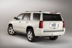 2018 Chevrolet Tahoe in Summit White - Static Rear Left View