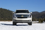 2018 Chevrolet Tahoe in Summit White - Static Frontal View