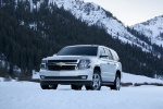 2018 Chevrolet Tahoe in Summit White - Static Front Left View