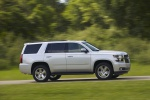 2019 Chevrolet Tahoe in Silver Ice Metallic - Driving Side View