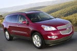 2010 Chevrolet Traverse LTZ in Red Jewel Tintcoat - Driving Front Right Three-quarter View