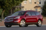 2011 Chevrolet Traverse LTZ in Red Jewel Tintcoat - Static Front Left Three-quarter View
