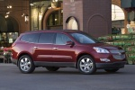 2012 Chevrolet Traverse LTZ in Crystal Red Tintcoat - Static Front Right Three-quarter View