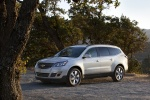 2013 Chevrolet Traverse LTZ in Silver Ice Metallic - Static Front Left Three-quarter View