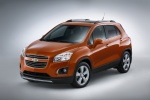 2015 Chevrolet Trax LTZ AWD in Orange Rock Metallic - Static Front Left Three-quarter View