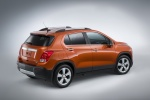2015 Chevrolet Trax LTZ AWD in Orange Rock Metallic - Static Rear Right Three-quarter View