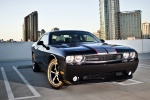 2013 Dodge Challenger SXT in Black Clearcoat - Static Front Right Three-quarter View