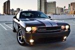 2013 Dodge Challenger SXT in Black Clearcoat - Static Front Right View